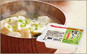 家族の人数に合わせて 毎日食べたい!めーむのお豆腐。