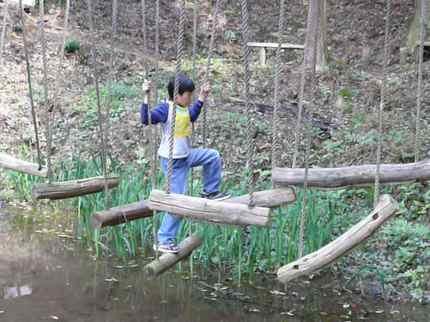 大自然で、大胆に遊べるよ~