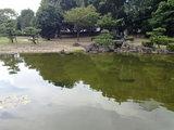 水の流れる公園