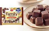 「CO・OPファミリーチョコレート 糖類25%カット 155g」もらって、試して、声を聞かせてください!